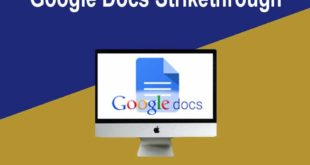 How to do a Strikethrough in Google docs